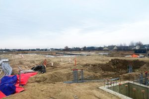 Construction site for Senior Living Community in Meridian Idaho
